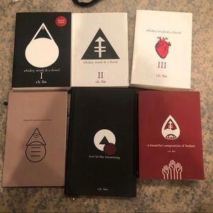 Rh sin lot of books